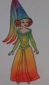 Vertellen voor grott en klein- De Regenboogprinses