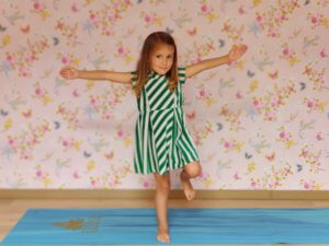 Kinderyoga oefening hartegroet - El Sole
